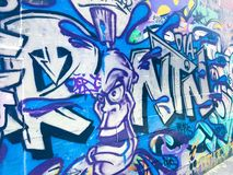 Art de rue de Melbourne Photo libre de droits