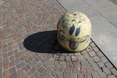 Art de rue de Milan Photographie stock libre de droits
