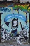 Art de rue de murales de Consonno Photographie stock libre de droits