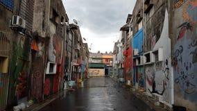 Art de rue de Trulife Machang Photographie stock