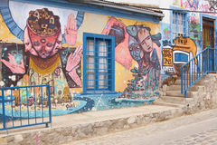 Art de rue de Valparaiso Images stock