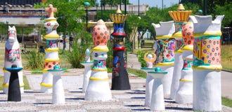 Art de rue en La Boca Image libre de droits