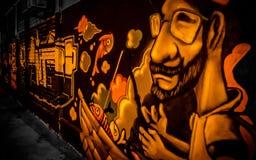 Art de rue - graffiti Photos libres de droits