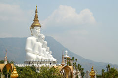 Art de statue de Bouddha Images libres de droits