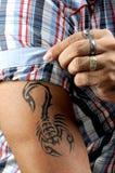Art de tatouage Images libres de droits