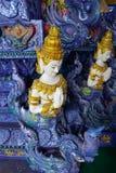 Art de temple de la Thaïlande Image stock