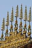 Art de toit de temple de Thatluang Image libre de droits