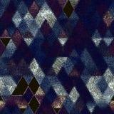Art de triangle Photographie stock