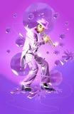 Art de trompette de jazz Images stock