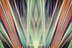 Art Deco świateł reflektorów tło Zdjęcia Royalty Free