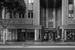 Art Deco Λος Άντζελες γραπτό Στοκ Εικόνες