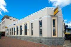 Art Deco που ενσωματώνει την πόλη Napier Στοκ Εικόνα
