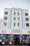 Art Deco που ενσωματώνει το Μαϊάμι Μπιτς, Φλώριδα Στοκ εικόνα με δικαίωμα ελεύθερης χρήσης