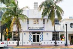 Art Deco που ενσωματώνει το Μαϊάμι Μπιτς, Φλώριδα Στοκ φωτογραφία με δικαίωμα ελεύθερης χρήσης
