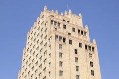 Art Deco που ενσωματώνει το Fort Worth, ΗΠΑ Στοκ εικόνες με δικαίωμα ελεύθερης χρήσης