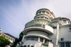 Art Deco που χτίζει τη βίλα Isola Στοκ εικόνες με δικαίωμα ελεύθερης χρήσης