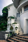 Art Deco που χτίζει τη βίλα Isola Στοκ Εικόνα