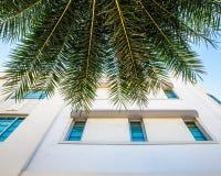 Art Deco που χτίζει τη νότια παραλία Μαϊάμι Στοκ εικόνα με δικαίωμα ελεύθερης χρήσης