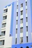 Art Deco που χτίζει το εξωτερικό Στοκ Φωτογραφία