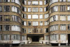 Art Deco Apartment Block. In London UK, dating from the 1920's / 30's Royalty Free Stock Photos