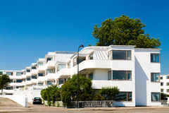 Art deco apartment building Stock Photography