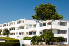 Art deco apartment building Royalty Free Stock Photography