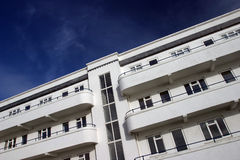 Art Deco Apartments Royalty Free Stock Photo
