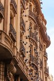 Art Deco Architecture in Barcelona Stockfoto