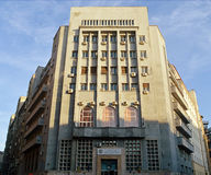 Art Deco architecture: Bucharest, Romania Royalty Free Stock Image