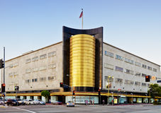 Art Deco Architecture in Los Angeles Royalty Free Stock Photos