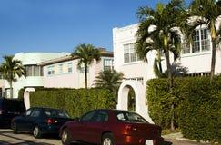 Art deco architecture  South Beach Miam Stock Photo