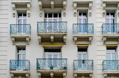 Balconies and windows Stock Photos