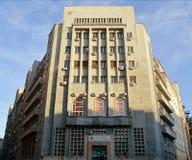 Art Deco architektura: Bucharest, Rumunia Obraz Royalty Free