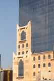Art Deco architektura w Doha Fotografia Royalty Free