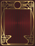 Art Deco Background Royalty Free Stock Photos