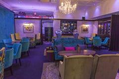 Art Deco Bar em Napier, Nova Zelândia fotos de stock royalty free
