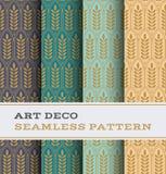 Art Deco bezszwowy wzór 28 Obrazy Stock