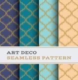 Art Deco bezszwowy wzór 31 Obrazy Royalty Free