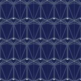 Art Deco Bezszwowy wzór, Geometrical tło dla projekta, pokrywa, tkanina, tapeta, dekoracja Obrazy Stock