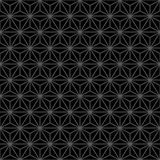 Art Deco Black y Gray Dark Decor Pattern abstractos Fotos de archivo