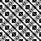 Art deco block pattern Royalty Free Stock Images