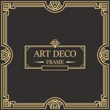 Art Deco Border Frame Vector 05