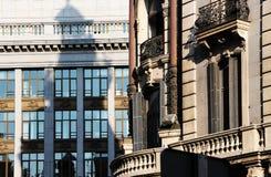 Art Deco budować Madrid, Spain zdjęcie royalty free