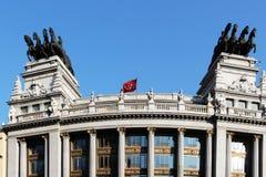 Art Deco budować Madrid, Spain Obraz Stock