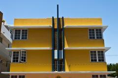 Art Deco buduje fasadę Zdjęcie Royalty Free