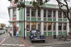 Art Deco Buduje w Napier Nowa Zelandia Zdjęcia Royalty Free