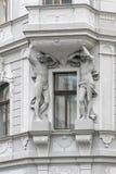 Art Deco buduje w Praga, republika czech Fotografia Stock