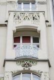 Art Deco buduje w Praga, republika czech Obraz Royalty Free