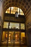 Art Deco Buduje wejście obraz stock