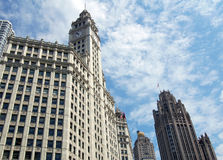 Art Deco Building. Picture of a vintage Art Deco Building in Chicago Stock Photography